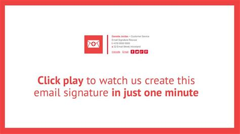 Design A Html Email Signature   want to watch us create an awesome new html email