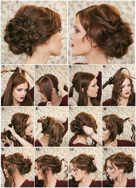 diy hairstyles step by step tumblr diy fancy bun hairstyle pictures photos and images for