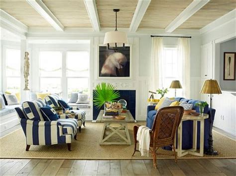 Beach Themed Home Decor Ideas by Beach Cottage Interior Decorating The Home Design White