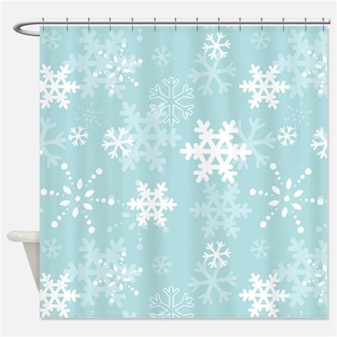 snowflake curtain blue snowflake shower curtains blue snowflake fabric