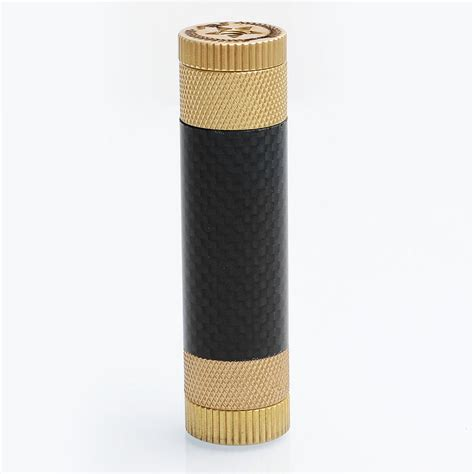 Av Able Blavk Carbon av able xl style black brass carbon fibre 18650 24mm