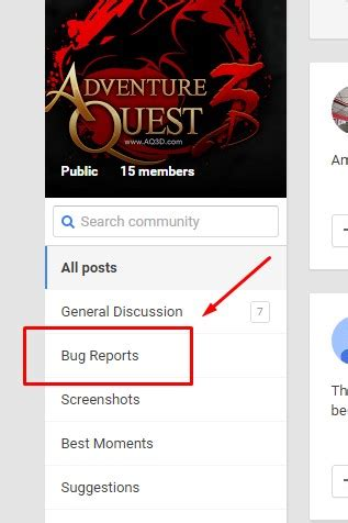 bug report android aq3d news aq3d on android