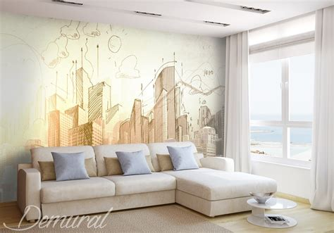wall photo murals wallpaper architect s notebook architecture wallpaper mural