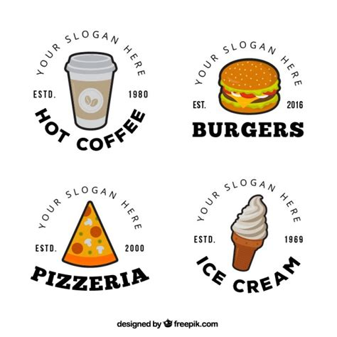 Food Logo Design food logo design vector free