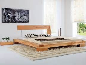 Bed Frame Styles Wood Balkenbett Haineck Modern Wood Bed Designs Diy