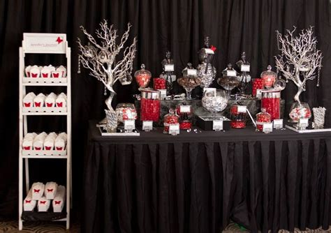 black red silver silver party decorations black