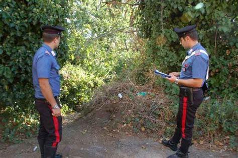 carabinieri bagno di romagna sopralluogo in grotta osini dove fu trovato scheletro
