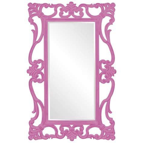 designer mirrors ornament designer mirror in hot pink hre 110hp accent