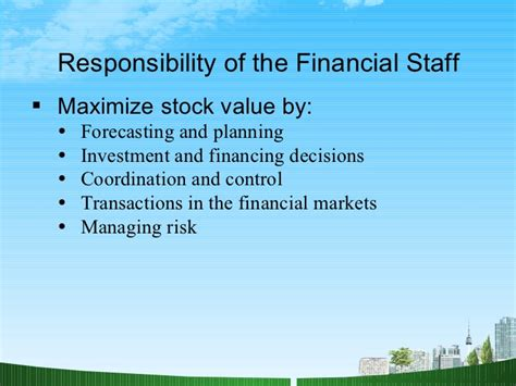 Mba Financial Management Ppt by Introduction To Financial Management Ppt Mba