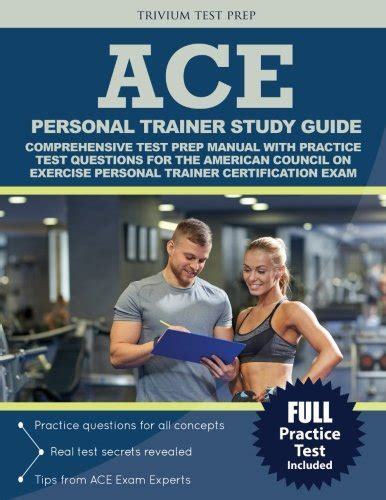 ace personal trainer study guide 2018 prep and practice questions for the american council on exercise cpt books ace personal trainer study guide comprehensive test prep