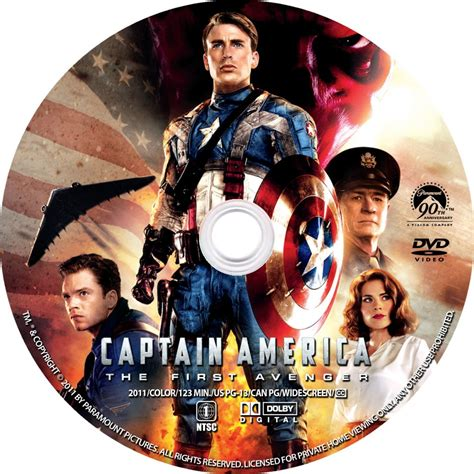 Dvd Etiketten by Captain America Label Custom Dvd Labels Captain