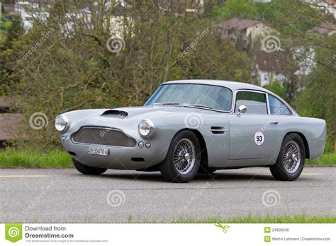 vintage aston vintage car aston martin editorial photo image 24639536