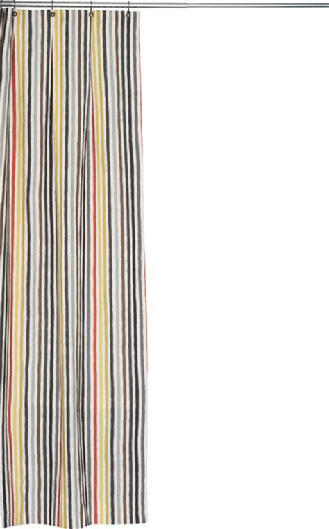extra long linen shower curtain extra long multi colored stripe linen fabric shower
