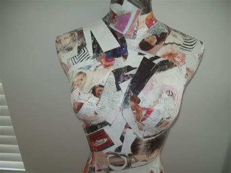Decoupage Mannequin - decoupage mannequin 183 how to make a mannequins 183 decoupage