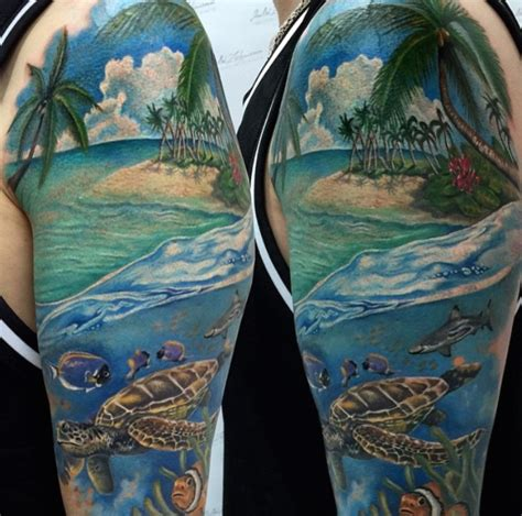 ocean themed tattoos tattoos designs ideas and meaning tattoos for you