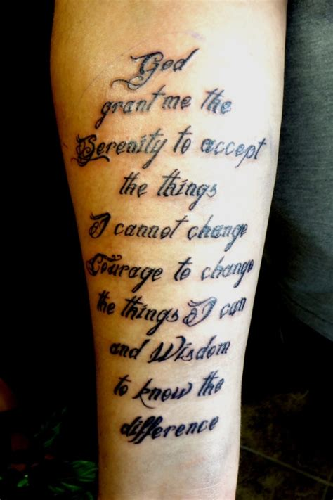 serenity prayer wrist tattoo 30 devoted serenity prayer tattoos creativefan