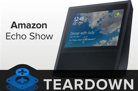 amazon news amazon echo show teardown des echo mit display f 252 r die