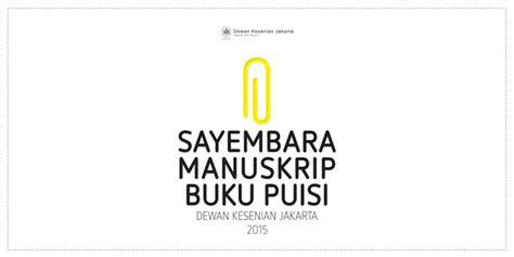Buku Novel Benang Merah indonesia sastra dkj