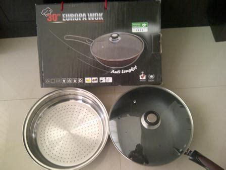 Wajan Multifungsi europa wok pan 5in1 wajan masak jumbo multifungsi