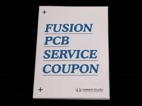 fusion coupon fusion pcb pcba service coupon code seeed studio