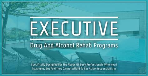 And Detox Centers by Executive And Rehab Programs