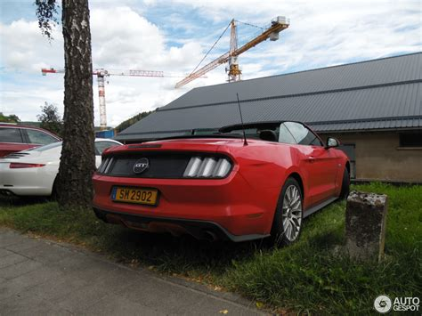 2015 Ford Mustang Gt Convertible by Ford Mustang Gt Convertible 2015 9 November 2016
