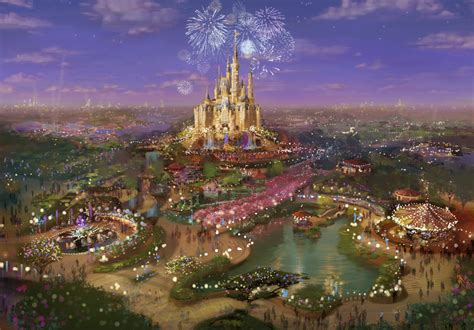 Disney Shanghai | china disney theme park and resort set to open in