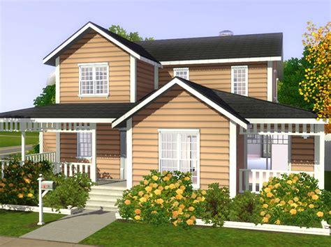 family house freebird sims 3 lot family house 01