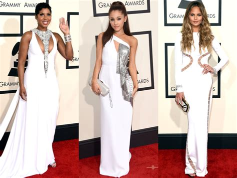 July Carpet Trends All White by Pictures 10 Grammy Awards 2015 Carpet Trends White