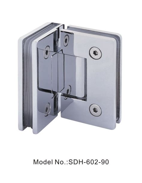Glass Shower Door Hinges by 90 Degree Glass To Glass Shower Door Hinges For 800mm Wide