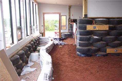 tire house index of earthship new 2005