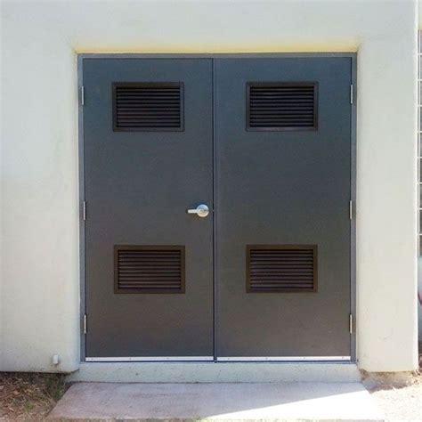 Metal Door Louvres Exterior Louvered Door Metal Louver Vented Exterior Doors