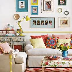 Boho Home Decor Ideas by Colourful Boho Chic Living Room Living Room Decorating