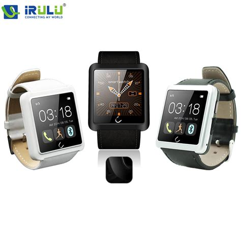Unique Smartwatch Maxstyle Executive U8 For Ios And Android Rubber htc application