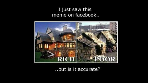 Meme Poor - the rich vs poor meme is it accurate promoterhost