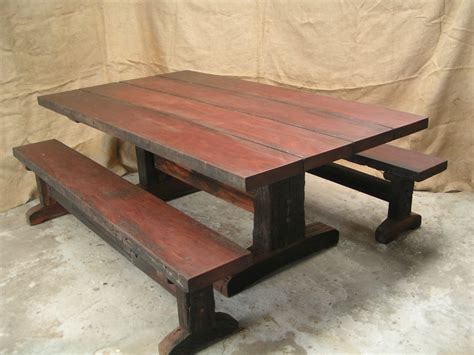 Sleeper Table by Dining Tables Forest Creations