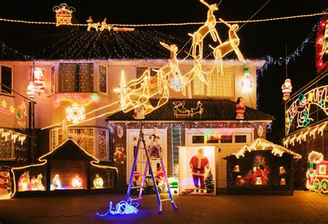 ground christmas lights outdoor decorating ideas outdoor decorations