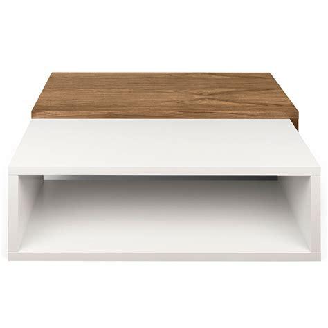 Walnut And White Coffee Table Jazz White Walnut Modern Coffee Table Eurway Furniture