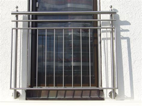 French Balcony Railing by Stainless Steel Balustrade And French Balcony By Metal