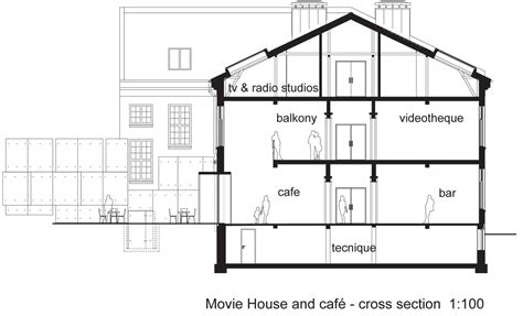 section a houses cross section house drawing quotes house plans 3809