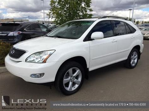 pre owned white 2007 lexus rx 350 awd review fort