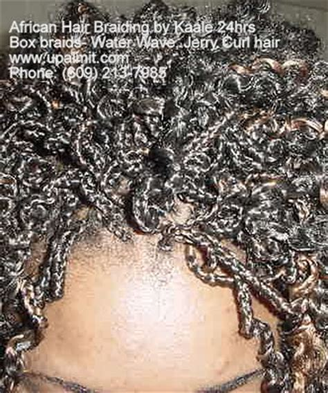 how to curl box braids with hot water hair braiding box braids and box braids with cornrows