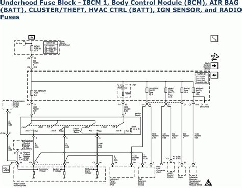chevy malibu 2007 wiring diagram wiring diagrams