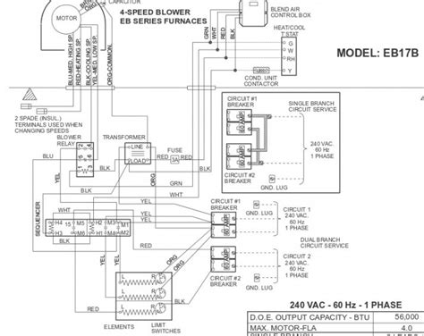 goodman furnace blower wiring diagram for a wiring