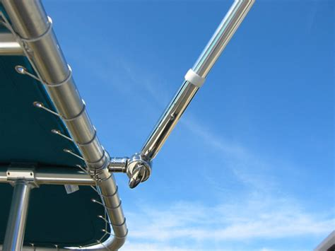 boat t top outriggers tigress outriggers 15 telescoping poles