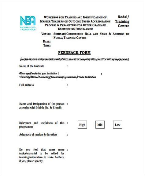 induction feedback orientation orientation feedback form sle word performance evaluation form employee evaluation form