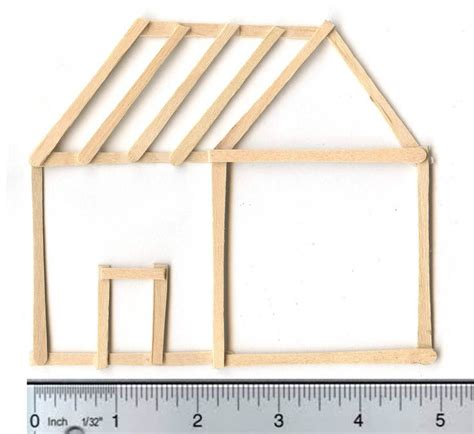 toothpick house little stick house the o jays how to make and sticks
