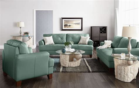 seafoam leather sofa vita 100 genuine leather sofa sea foam the brick