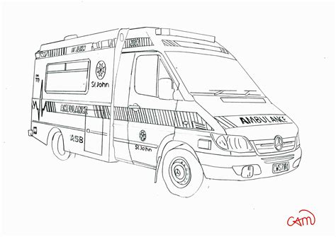 Ambulance Military Coloring Pages For Elementary Free Printable Pictures To Colour Kids Color Ambulance Pictures To Colour