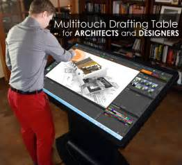 Digital Drafting Table Multitouch Drafting Table For Architects Designers And Engineers Arch Student